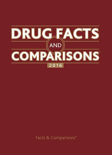 Drug Facts and Comparisons 2016 PDF