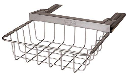 Rubbermaid Slide-Out Under-Shelf Storage Basket, Titanium (FG1H3200TITNM) (Rubbermaid Wire compare prices)
