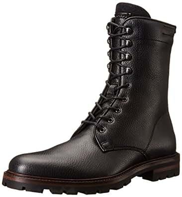 Amazon com aquatalia men s justin combat boot shoes