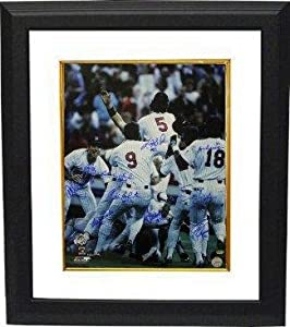 Minnesota Twins signed 16x20 Photo Custom Framed 1987 World Series Champs w  10...