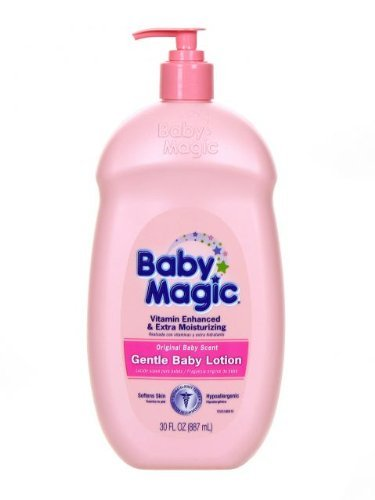 Baby Magic Gentle Baby Lotion, Original Baby Scent, 30 Oz (Pack of 2) - 1