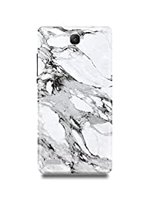White & Black Marble Xiaomi Note 4g Case
