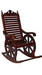 Tayyaba Enterprises Wooden Rocking Chair