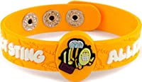 AllerMates Insect Sting Allergy Wristband Bizzzy from Awearables, Inc.