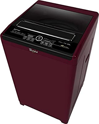 Whirlpool 6212SD Whitemagic Royale Top-loading Washing Machine (6.2 Kg, Wine Chrome)