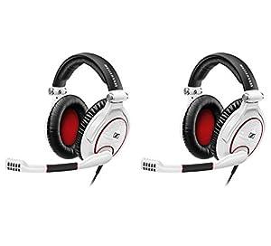 (2) Sennheiser G4ME Zero Over-Ear PC Mac Video Gaming Headset Headphones w/ Mic