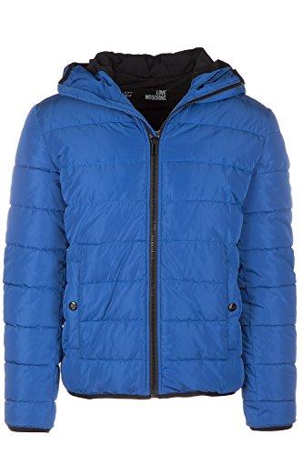 Love Moschino piumino giubbotto giubbino con cappuccio uomo blu EU 48 (UK 38) M H 683 80 T 8628 Y1