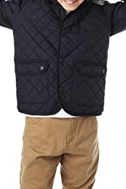 Hooded Quilted Car Coat with Stormwear [T87-9123D-S]