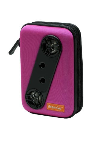iMainGo Portable iPod Speaker System in Pink