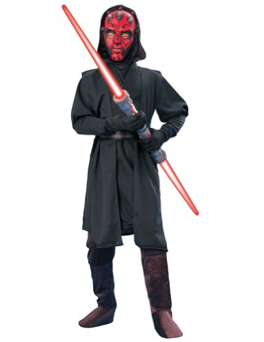 Darth Maul Deluxe Kids Costume Md 8-10 Kids Boys Costume