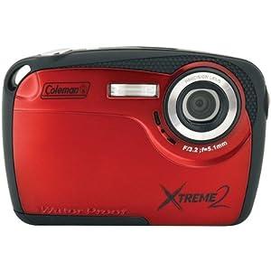 Coleman C12wp-R 16.0 Megapixel Xtreme2 Hd Underwater Digital Camera (Red)