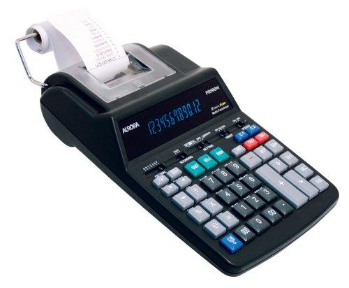Aurora Pr190M 12-Digit Flourescent Led, Ac Power Printing Calculator