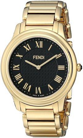 フェンディ Fendi Men's F251411000 Classico Analog Display Quartz Gold Watch 男性 メンズ 腕時計 【並行輸入品】