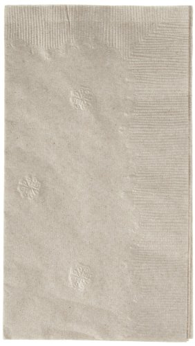 Georgia-Pacific Envision 31559 Brown 1-Ply 1/8 Fold Paper Dinner Napkin, 17