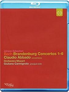 Johann Sebastian Bach: Brandenburg. Konzerte 1-6 [Blu-ray]