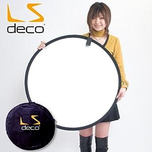 LS deco 丸レフ板80cm 32インチ折りたたみ可能