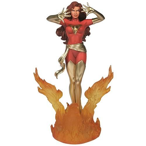 Picture of Corgi X-Men Dark Phoenix 1:12 Scale Metal Statue Figure (B000LER2XI) (X-Men Action Figures)