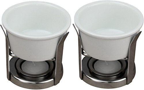 Omniware Culinary Proware Porcelain Butter Warmer Set