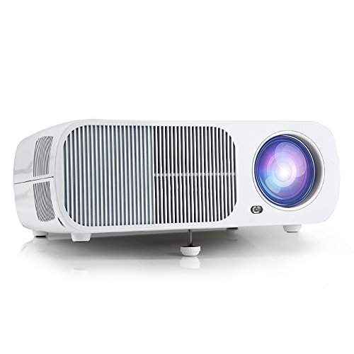 Rear projection projector