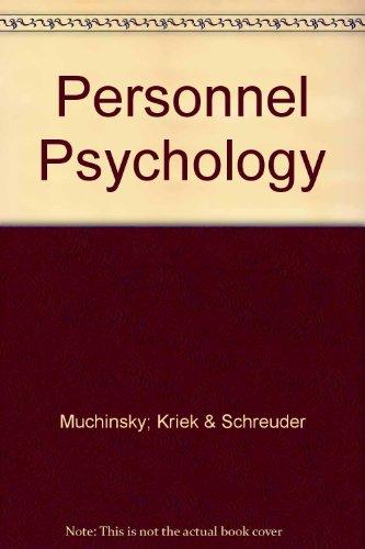 personnel-psychology