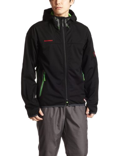 (マムート)MAMMUT Ultimate Hoody 【並行輸入品】 1010-05171 0693 BLACK-DARK SPRING M