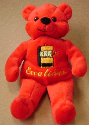 Excalibur Casino Teddy Bear Stuffed Animal Plush