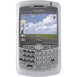 OEM BlackBerry 8330 Curve Silicone Cover Skin Case - White