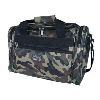 "15"" Small Camouflage Sports Holdall Weekend Overnight Travel Camo Onboard Cabin Flight Bag from Jazzi"
