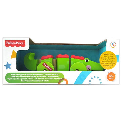 Fisher-Price My First Wiggly Crocodile Pretend Play