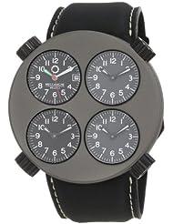 Meccaniche Veloci Men's W104HI_153 Quattro Valvole Four Time Zone Watch
