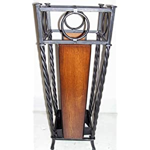 Wrought Iron Umbrella Stand-Wrought Iron Umbrella Stand