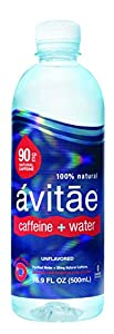 Avitae 90 Mg Caffeinated Water, 16.91-Ounce (Pack of 12)