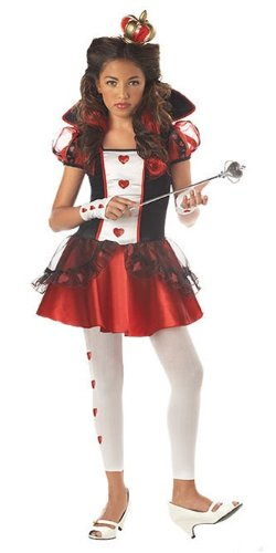 Tween Queen of Hearts Costume