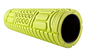 GoFit Multi-Surface Foam Massage Roller with Bob Harper Regeneration Training DVD (6 X 18-Inch, Green)