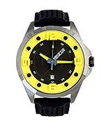 Sparco Reloj de cuarzo Man Sebastian Negro 48 mm