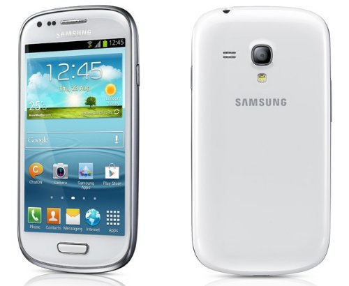 Samsung Galaxy S3 Mini Ceramic White on O2 pay and go with 10 airtime Black Friday & Cyber Monday 2014
