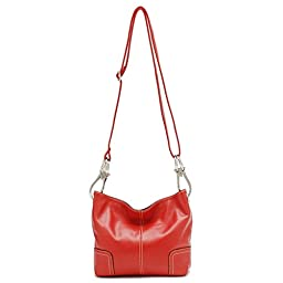 Tosca Classic Small Cross-body Handbag (Red)