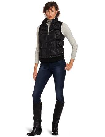Calvin Klein Performance Women's Slick Puffer Vest女士保暖时尚马甲$42.51