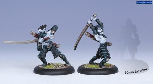 Privateer Press - Hordes - Legion: Blighted Swordsmen Model Kit - 1