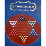 "15"" Jumbo Chinese Checkers with Marbles"