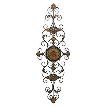 Deco 79 Metal Scroll Decor for Everlasting Decoration