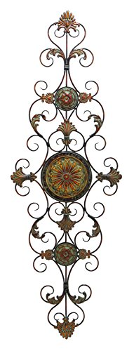 Deco 79 Metal Scroll Decor for Everlasting Decoration 0