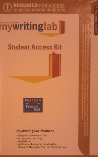 MyWritingLab Student Access Code Card (4th Edition)