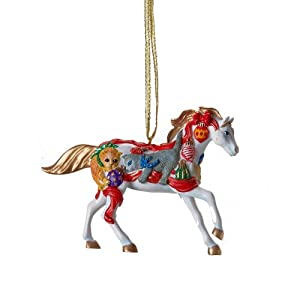 Trail of Painted Ponies Christmas Horse Ornament