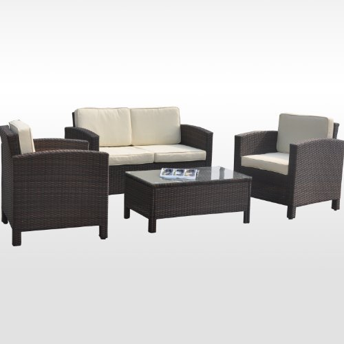 13tlg deluxe lounge set gruppe garnitur gartenm bel. Black Bedroom Furniture Sets. Home Design Ideas