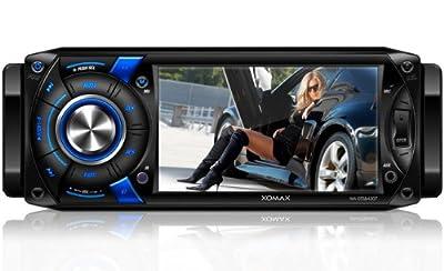 """XOMAX XM-DTSB4307 Autoradio Moniceiver Bluetooth Freisprecheinrichtung 10,9 cm/4,3"""" Touchscreen CD USB SD mp3 Single DIN (DIN 1) inkl. Fernbedienung von XOMAX - Reifen Onlineshop"""