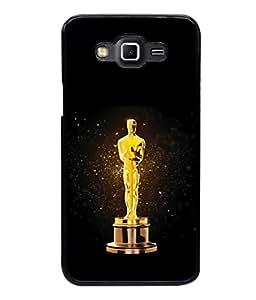 printtech Oscar Statue Back Case Cover for Samsung Galaxy Grand 3 G720::Samsung Galaxy Grand Max G720