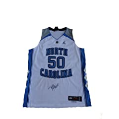 Tyler Hansbrough Signed UNC North Carolina Tar Heels Authentic Jersey Psa Dna