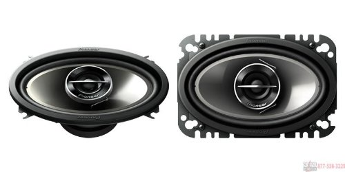 Pair Pioneer Ts-G4644R 4X6 2 Way 200W Car Audio Speakers Tsg4644R