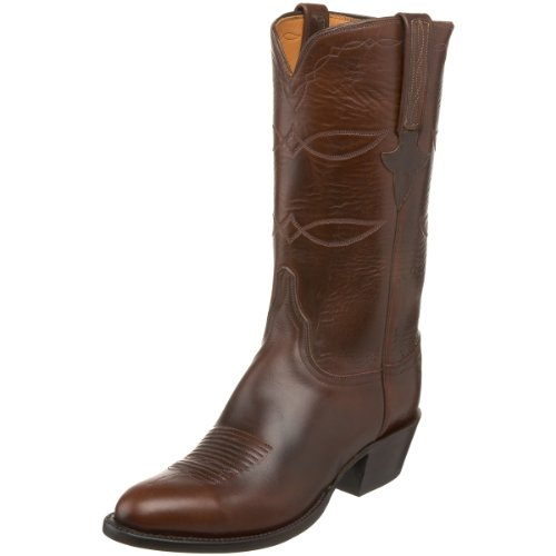 Lucchese Classics Men's L1541.64 Western Boot,Chocolate oiled,6.5 D US